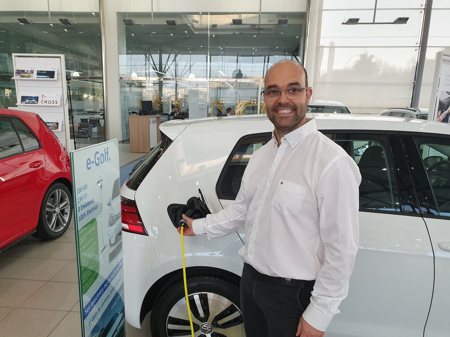 Electric car dealerships take their chances with Internet